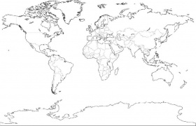 Map Coloring Pages Of The United States World Map Coloring Page ...