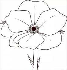 21+ Poppy Coloring Pages - Free Printable Word, PDF, PNG, JPEG ...