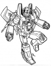 Starscream - Decepticon - coloring page | Transformers coloring pages, Toy  story coloring pages, Ninjago coloring pages