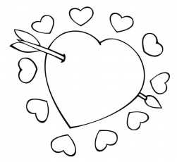 Hearts And Roses Coloring Pages - GetColoringPages.com