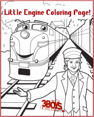 Little Engine That Could Coloring Pages Page 1 Coloring Home