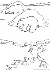 Coloring Pages Little Polar Bear 01 (Cartoons > Care Bears) - free