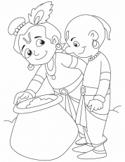 9 Pics Of Lord Krishna Coloring Pages - Krishna Coloring Pages ...