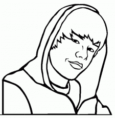 Justin Bieber Coloring Pages To Print For Free Coloring Point