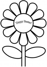 Free Printable Colouring Pages Easter Flowers For Kids & Girls 16686#