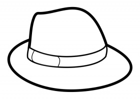 Pirate hat coloring page az coloring pages for Pirate hat coloring page