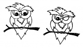 owl picture cartoon