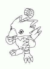 Printable Digimon Coloring page For Kids | Coloring Pages