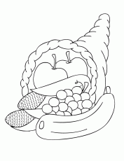 Thanksgiving and Fall Coloring Pages | Make and Takes