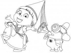 agnes Colouring Pages (page 2)