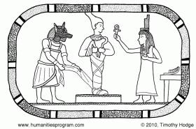 Ancient Egypt Coloring Pages For Kids Egyptian Gods Coloring 48428