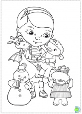 doc mcstuffin coloring pages