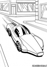 Hotwheels18 - Printable coloring pages