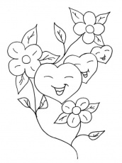 Hearts Coloring Pages | ColoringMates.