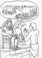 Joseph's Dreams Coloring Page | Coloring Pages
