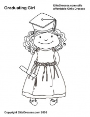 Graduation Coloring Pages - Free Printable Coloring Pages | Free