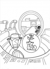 Print Or Download WALL E Free Printable Coloring Pages No 56