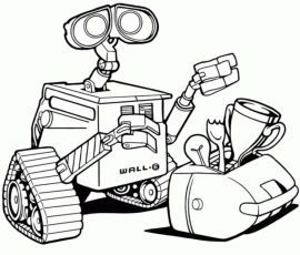 Wall-e Coloring Pages | Coloring Pages
