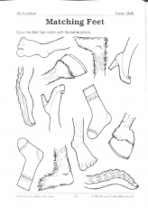 the foot book coloring pages