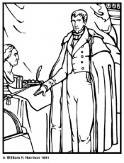all 44 presidents coloring pages - photo#18