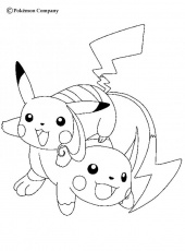 ELECTRIC POKEMON coloring pages - Magnezone