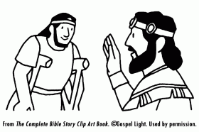 David Helps Mephibosheth | Mission Bible Class