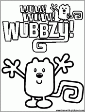 wow wow wubbzy by the book