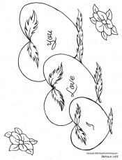 Heart Coloring Pages 2011-11-04 | Coloring Page