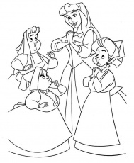 Disney Princess Aurora Castle Coloring Pages - Disney Coloring