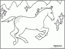 printable horse coloring pages great for kids or the kid in you