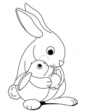 Search Results » Bunny Coloring Pages Printable