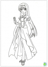Printable Coloring Pages Mermaid Melody Pichi Pichi Pitch 2