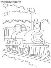 Summer Holidays printable coloring page for kids 9: Summer