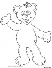 Polar Bear Coloring Pages and Other Bears too!