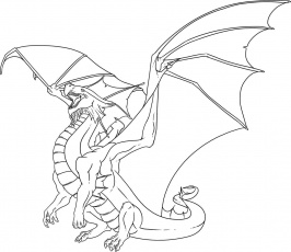 Star dragon city coloring pages