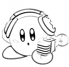 super smash bros kirby coloring pages kids play color