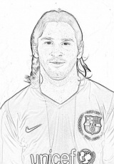 14 Pics of 2015 Lionel Messi Coloring Pages - Lionel Messi ...