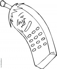 14 pics of blackberry cell phone coloring pages blackberry - Cell Phone Coloring Pages
