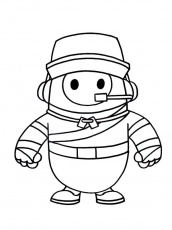 colouring page Scout Fall Guys ...coloringpage.ca