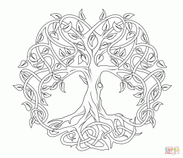 celtic adult coloring pages