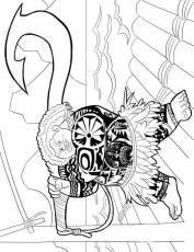 Kids-n-fun.com | 3 coloring pages of Moana