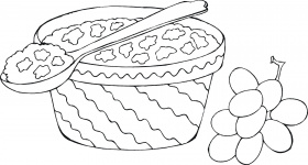 Food Coloring Pages – Children's Best Activities