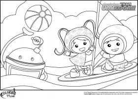 Team Umizoomi Coloring Pages Printable, Pages Games Umizoomi ...