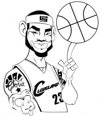lebron coloring pages - lebron james coloring page coloring home