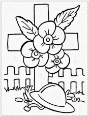 Remembrance Day Canada Coloring Pages - Coloring Page