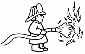 fireman coloring pages - Clip Art Library