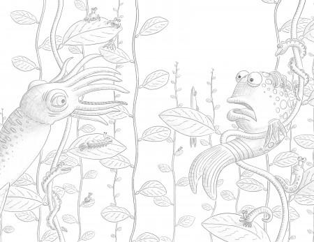 The pout pout fish color it yourself images coloring home for Pout pout fish pdf