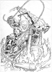 Saved Ghost Rider Coloring Pages Printable Coloring Panda, Prowess ...