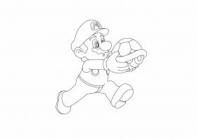 Luigi Coloring Pages Mario And To Printdo Paper Super –  Approachingtheelephant