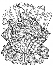 Sweets coloring page | Colorish: free coloring app for adults by  GoodSoftTech | Coloring pages, Monster coloring pages, Food coloring pages